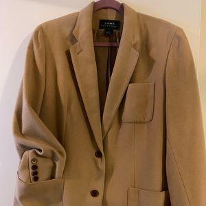 Tan Camel hair Ralph Lauren  blazer sized 16w